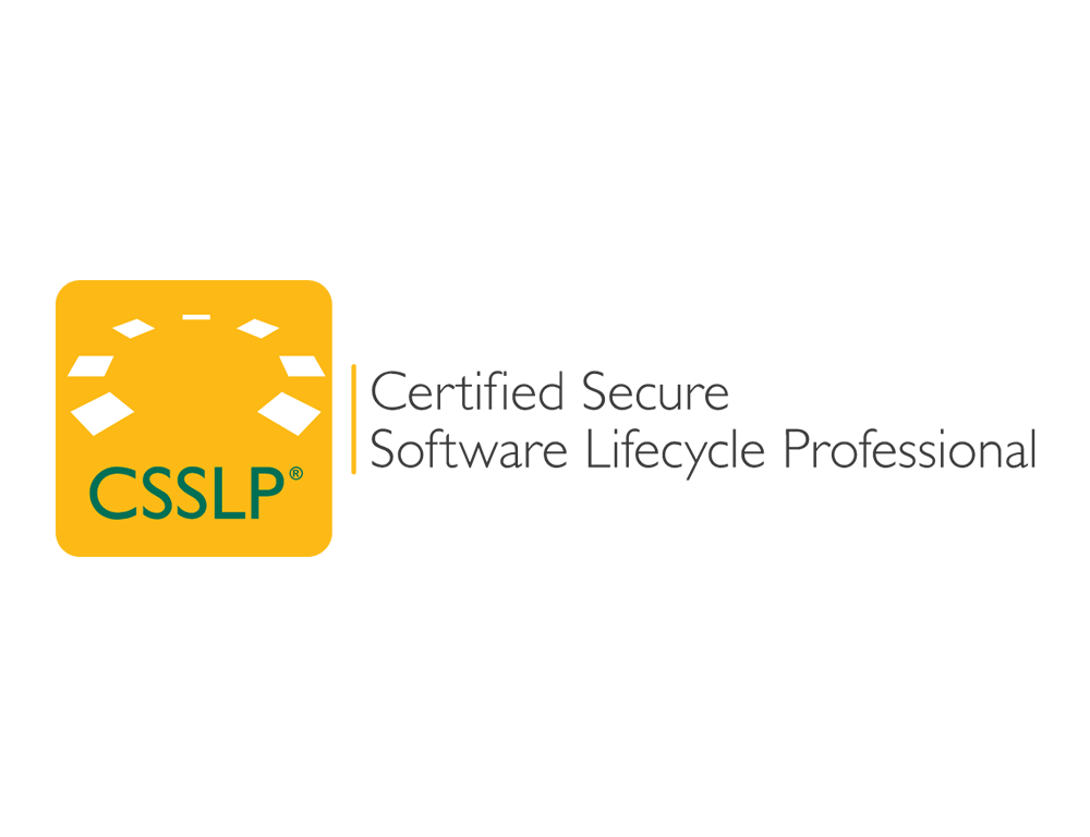 CSSLP – Certified Secure Software Lifecycle Professional